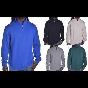 John Ashford Quarter ZIP Collar Sweatshirt